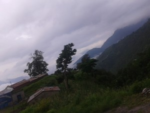 On the way to Hetauda